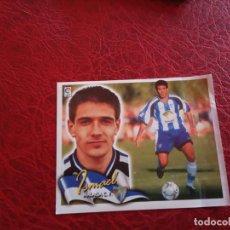 Cromos de Fútbol: ISMAEL MALAGA ED ESTE LIGA CROMO 00 01 FUTBOL 2000 2001 - VENTANILLA - 124 COLOCA. Lote 159344422