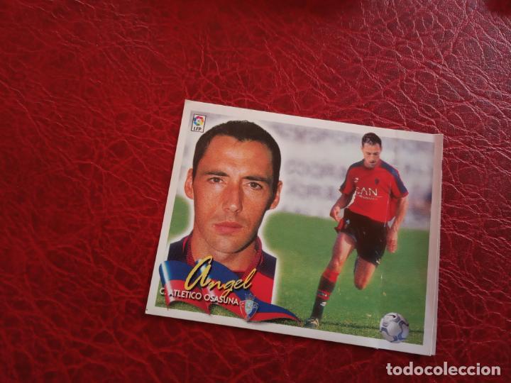 ANGEL OSASUNA ED ESTE LIGA CROMO 00 01 FUTBOL 2000 2001 - VENTANILLA - 163 COLOCA (Coleccionismo Deportivo - Álbumes y Cromos de Deportes - Cromos de Fútbol)