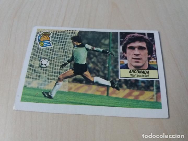 EDICIONES ESTE 84 85 ARCONADA REAL SOCIEDAD CROMO NUEVO SIN PEGAR (Coleccionismo Deportivo - Álbumes y Cromos de Deportes - Cromos de Fútbol)