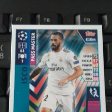 Cromos de Fútbol: ISCO REAL MADRID MATCH ATTAX CHAMPIONS 18 19 PASS MASTER. Lote 159370949