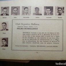 Cromos de Fútbol: (R.) C. DEPORTIVO MALLORCA - TEMPORADA 34/35 1934/35 - HOJA DE ESTE EQUIPO DE LA GUÍA FUTBOLISTICA . Lote 159376170