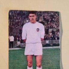 Cromos de Fútbol: PAQUITO VALENCIA 65 66 1965 1966 FHER DISGRA RECUPERADO. Lote 159425950