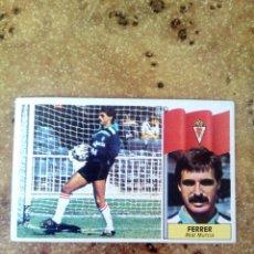 Cromos de Fútbol: BAJA FERRER (MURCIA) 86-87 ESTE. NUNCA PEGADO.. Lote 159543660