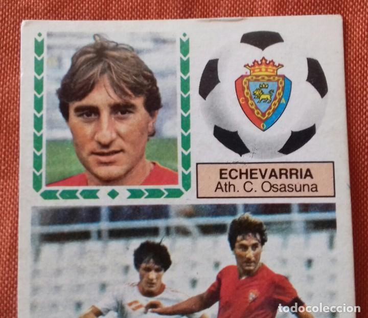 Cromos de Fútbol: Cromo futbol. LIGA 83-84. ECHEVARRIA / ATH. C. OSASUNA. Ediciones Este. - Foto 2 - 159583030