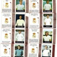 Cromos de Fútbol: CAJAS DE CERILLAS FUTBOLISTAS REAL MADRID 2ª SERIE LA DIFICIL. Lote 159656642