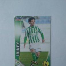 Cromos de Fútbol: Nº 470 IRINEY (REAL BETIS) - CROMO FÚTBOL FICHAS LIGA 11-12 MUNDICROMO 2011-2012. Lote 159731426