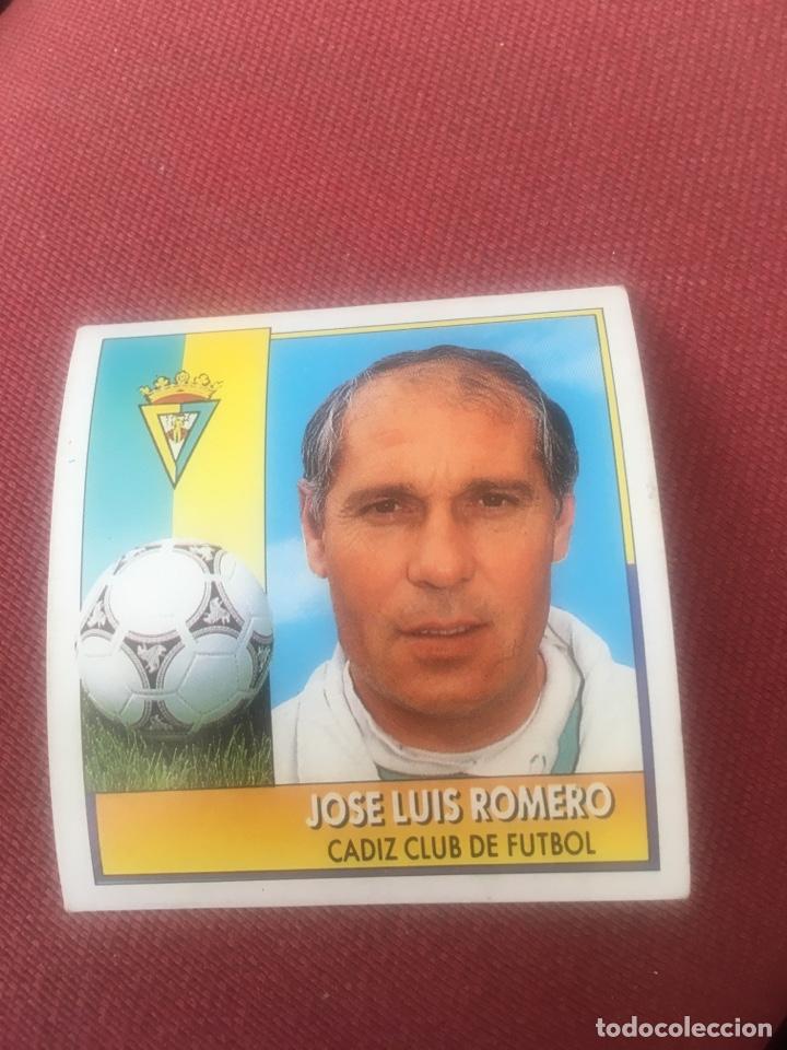 ESTE 92 93 1992 1993 SIN PEGAR CADIZ ROMERO COLOCA (Coleccionismo Deportivo - Álbumes y Cromos de Deportes - Cromos de Fútbol)