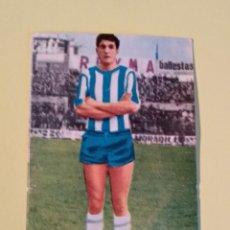 Cromos de Fútbol: MARTINEZ MALAGA 65 66 1965 1966 FHER DISGRA RECUPERADO. Lote 159815554