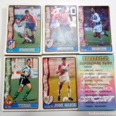 Cromos de Fútbol: LOTE DE 150 DIFERENTES FICHAS MUNDICROMO 96-97 MC SUPERSTARS INCLUIDAS 1996 1997. Lote 159906162