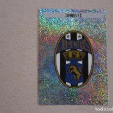 Cromos de Fútbol: PANINI MEJORES EQUIPOS EUROPA 97 98 LETRA L ESCUDO JUVENTUS 1997 1998 NUEVO. Lote 270240558