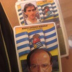Cromos de Fútbol - Este 90 91 1990 1991 Real sociedad Boronat sin pegar - 160053894