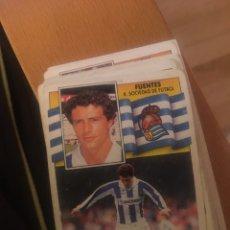 Cromos de Fútbol - Este 90 91 1990 1991 Real sociedad Fuentes sin pegar - 160053966