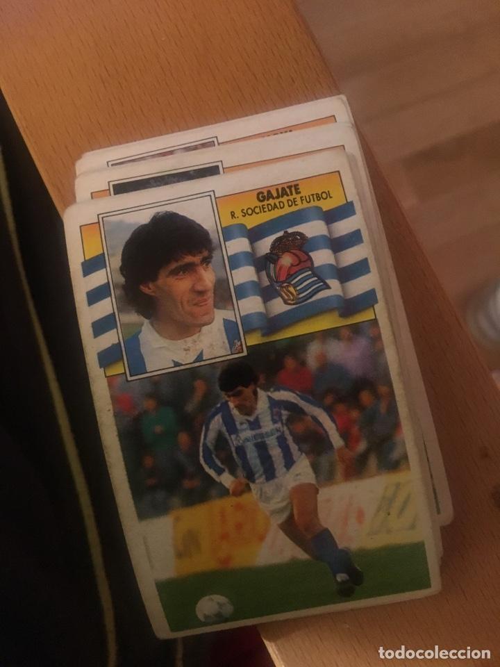 ESTE 90 91 1990 1991 REAL SOCIEDAD GAJATE SIN PEGAR (Coleccionismo Deportivo - Álbumes y Cromos de Deportes - Cromos de Fútbol)