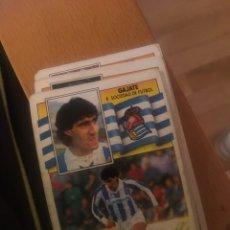 Cromos de Fútbol - Este 90 91 1990 1991 Real sociedad Gajate sin pegar - 160053982