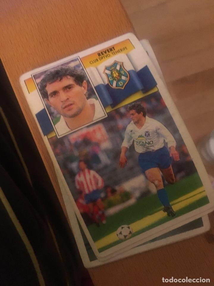 ESTE 90 91 1990 1991 TENERIFE SIN PEGAR REVERT (Coleccionismo Deportivo - Álbumes y Cromos de Deportes - Cromos de Fútbol)