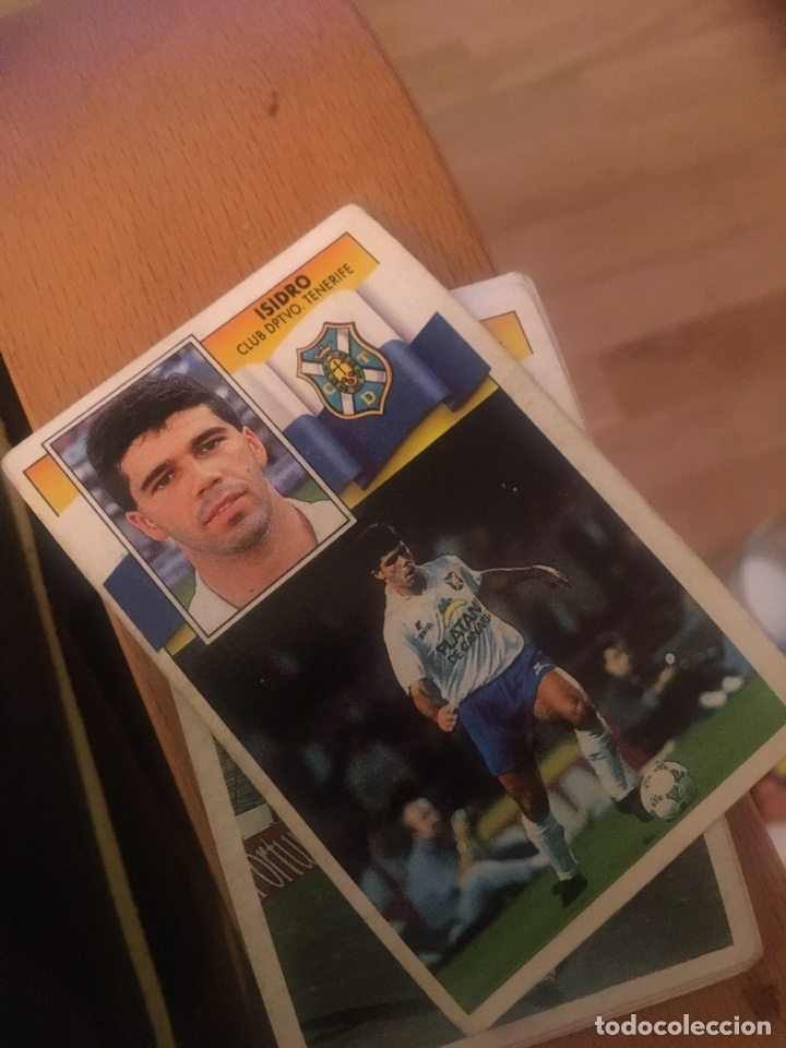 ESTE 90 91 1990 1991 TENERIFE SIN PEGAR ISIDRO (Coleccionismo Deportivo - Álbumes y Cromos de Deportes - Cromos de Fútbol)