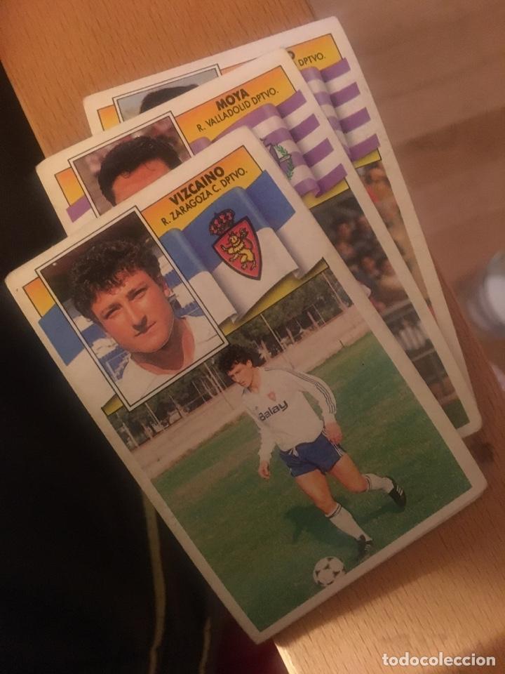 ESTE 90 91 1990 1991 ZARAGOZA SIN PEGAR VIZCAÍNO (Coleccionismo Deportivo - Álbumes y Cromos de Deportes - Cromos de Fútbol)