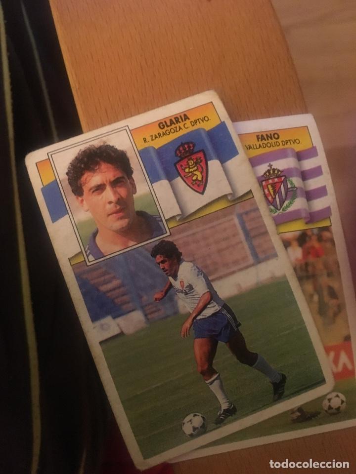 ESTE 90 91 1990 1991 ZARAGOZA SIN PEGAR GLARIA (Coleccionismo Deportivo - Álbumes y Cromos de Deportes - Cromos de Fútbol)