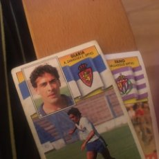 Cromos de Fútbol: ESTE 90 91 1990 1991 ZARAGOZA SIN PEGAR GLARIA. Lote 160054102