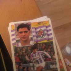 Football Stickers - Este 90 91 1990 1991 Valladolid sin pegar moya - 160054136
