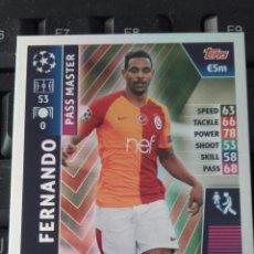 Cromos de Fútbol: FERNANDO GALATASARAY MATCH ATTAX CHAMPIONS 18 19 PASS MASTER. Lote 160101576