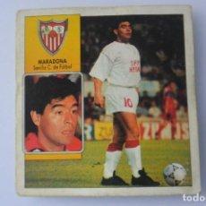 Cromos de Fútbol: CROMO FUTBOL ESTE LIGA 92/93 MARADONA DEL SEVILLA COLOCA. Lote 160157914