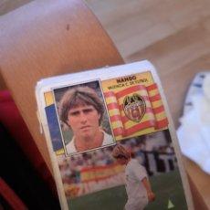 Cromos de Fútbol: STE 90 91 1990 1991 QUIQUE VALENCIA SIN PEGAR NANDO. Lote 160183846