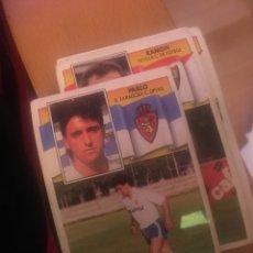 Fußball-Sticker - Este 90 91 1990 1991 Pablo sin pegar Zaragoza - 160186477