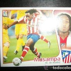 Cromos de Fútbol: MUSAMPA DEL ATLETICO DE MADRID ALBUM ESTE LIGA 2004 - 2005 ( 04 - 05 ). Lote 194524571