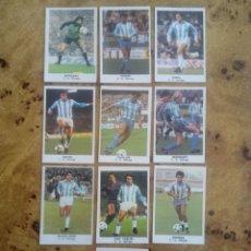 Cromos de Fútbol: LOTE 10 CROMOS DIFERENTES CD MÁLAGA FÚTBOL 84 ED.CANO. NUNCA PEGADOS. Lote 160347009