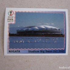 Cromos de Futebol: PANINI 2002 FIFA WORLD CUP KOREA JAPAN Nº 19 NIIGATA ESTADIO MUNDIAL COREA JAPON 02 NUEVO. Lote 204441326