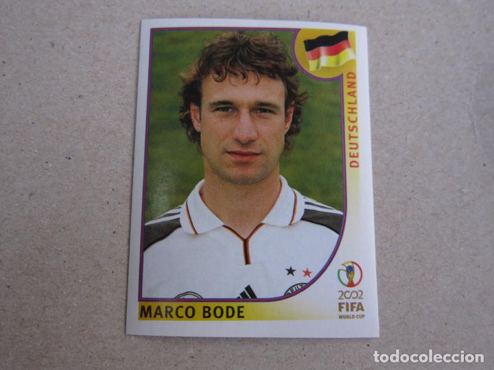 N°327 MARCO BODE # DEUTSCHLAND PANINI 2002 FIFA WORLD CUP KOREA JAPAN