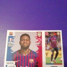 Cromos de Fútbol: 60 - UMTITI - BARCELONA - FIFA 365 2019. Lote 160668938
