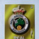 Cromos de Fútbol: MEGAFICHAS 2003 2004 03 - 04. Nº 235 ESCUDO RACING SANTANDER. Lote 160542180