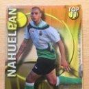 Cromos de Fútbol: 2010-2011 - 638 NAHUELPAN (LISO AMARILLO) - RACING DE SANTANDER - MUNDICROMO. Lote 160583986