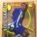 Cromos de Fútbol: 2010-2011 - 603 LUIS GARCIA (LISO AMARILLO) - RCD ESPANYOL - MUNDICROMO. Lote 160589374