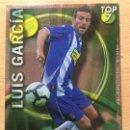 Cromos de Fútbol: 2010-2011 - 603 LUIS GARCIA (LISO VERDE) - RCD ESPANYOL - MUNDICROMO. Lote 160589478