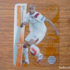 Cromos de Fútbol: MEGACRACKS 2008 2009 PANINI Nº 390 KANOUTE (SEVILLA) MEGA ESTRELLAS ULTRACARD LIGA 08 09. Lote 160714414