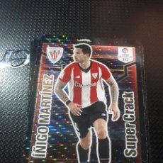 Cromos de Fútbol: TRADING CARD ADRENALYN SUPER CRACK, TEMPORADA 2018/19: IÑIGO MARTÍNEZ. Lote 207432737