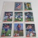 Cromos de Fútbol: EQUIPO COMPLETO ATLETICO DE MADRID COLECCION LOS MEJORES EQUIPOS DE EUROPA 1996 1997 PANINI-ATM. Lote 160748342