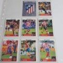 Cromos de Fútbol: EQUIPO COMPLETO ATLETICO DE MADRID COLECCION LOS MEJORES EQUIPOS DE EUROPA 1997 1998 PANINI-ATM. Lote 160749138