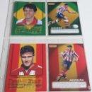 Cromos de Fútbol: EQUIPO ATLETICO DE MADRID COLECCION LAS ESTRELLAS DE LA LIGA/CRACKS DEL MUNDIAL 1998 PANINI-ATM. Lote 160751630