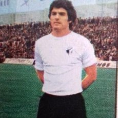Cromos de Fútbol: CROMO DE FÚTBOL GÓMEZ DEL REAL BURGOS C.F. DESPEGADO LIGA ESTE 1977-1978/77-78. Lote 160867686