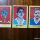 Cromos de Fútbol: LÉRIDA / LLEIDA - 3 CROMOS DIFERENTES SIN PEGAR- CAMPEONES 1951 2ª DIVISIÓN BRUGUERA 1950/51 50/51 . Lote 161188858