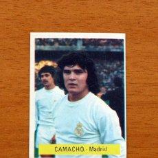 Cromos de Fútbol: REAL MADRID - CAMACHO - EDITORIAL FINI MU 1975-1976, 75-76 - NUNCA PEGADO. Lote 161233458