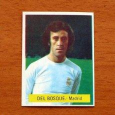 Cromos de Fútbol: REAL MADRID - DEL BOSQUE - EDITORIAL FINI MU 1975-1976, 75-76 - NUNCA PEGADO. Lote 161233638