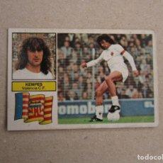 Cromos de Fútbol: ESTE 82-83 FICHAJE Nº 10 KEMPES VALENCIA 1982-1983 . Lote 161381898