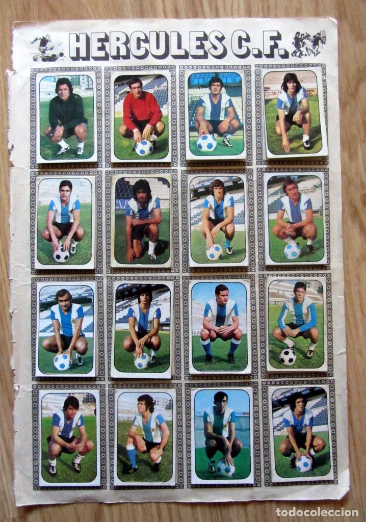 Cromos de Fútbol: ALBUM EDICIONES ESTE LIGA 1976/77 76-77 PAGINA RACING SANTANDER HERCULES CF - Foto 2 - 161536694