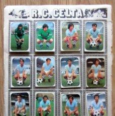 Cromos de Fútbol: ALBUM EDICIONES ESTE LIGA 1976/77 76-77 PAGINA R.C. CELTA REAL BETIS. Lote 161537646