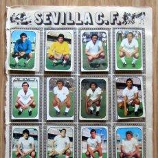 Cromos de Fútbol: ALBUM EDICIONES ESTE LIGA 1976/77 76-77 PAGINA U.D. LAS PALMAS SEVILLA CF. Lote 161538562